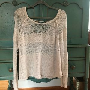Free People off-white sweater